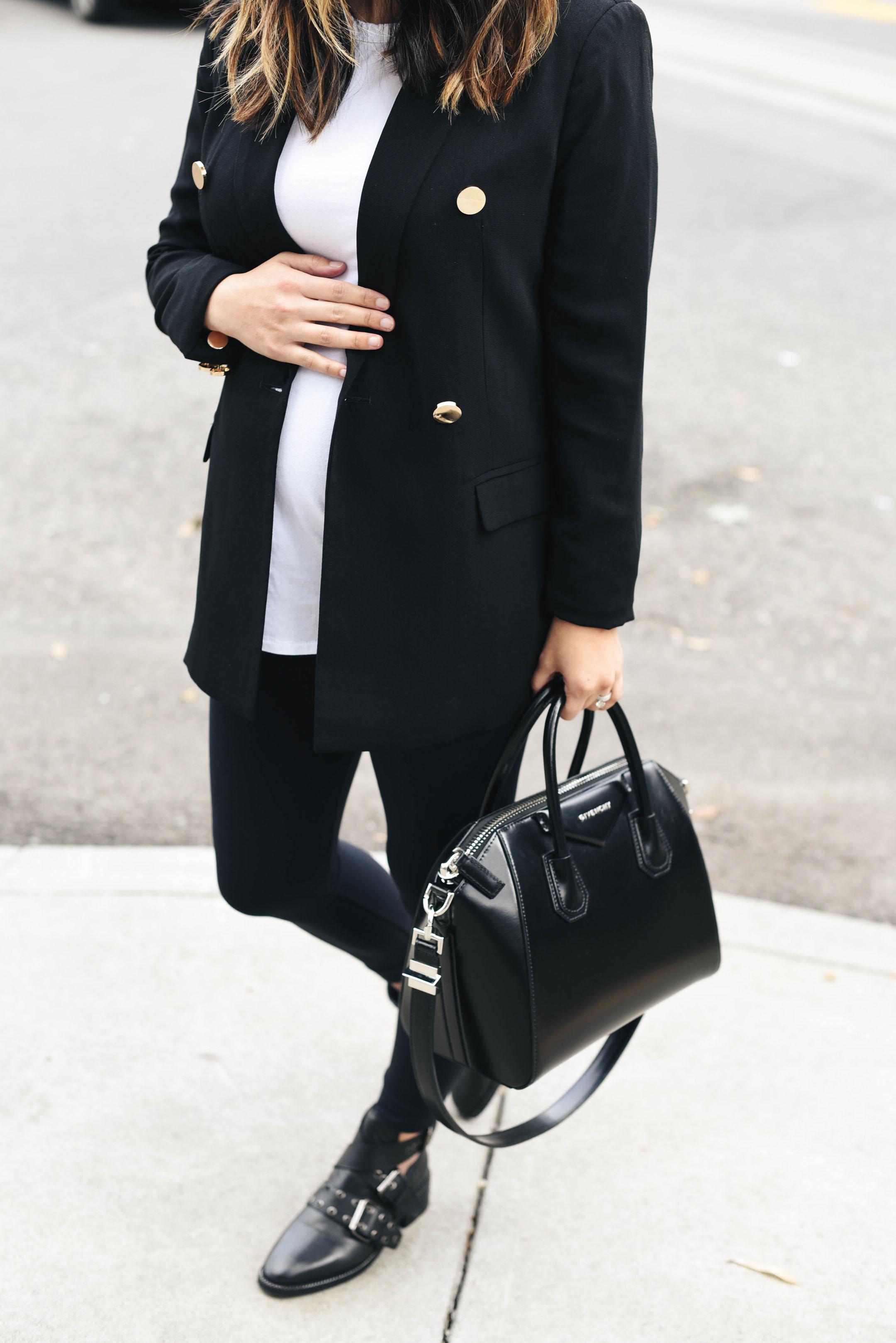Mural black blazer