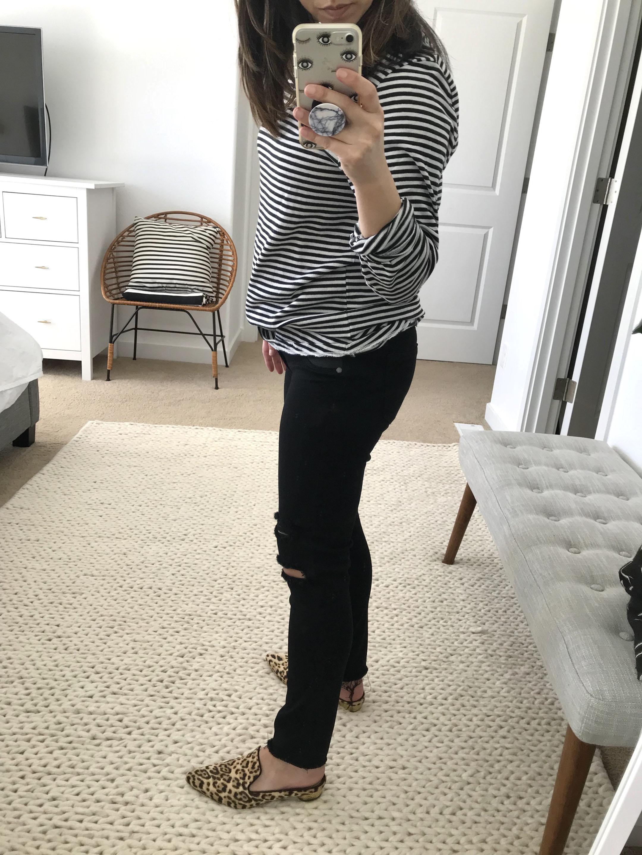 Paige maternity verdugo ultra skinny jeans 3