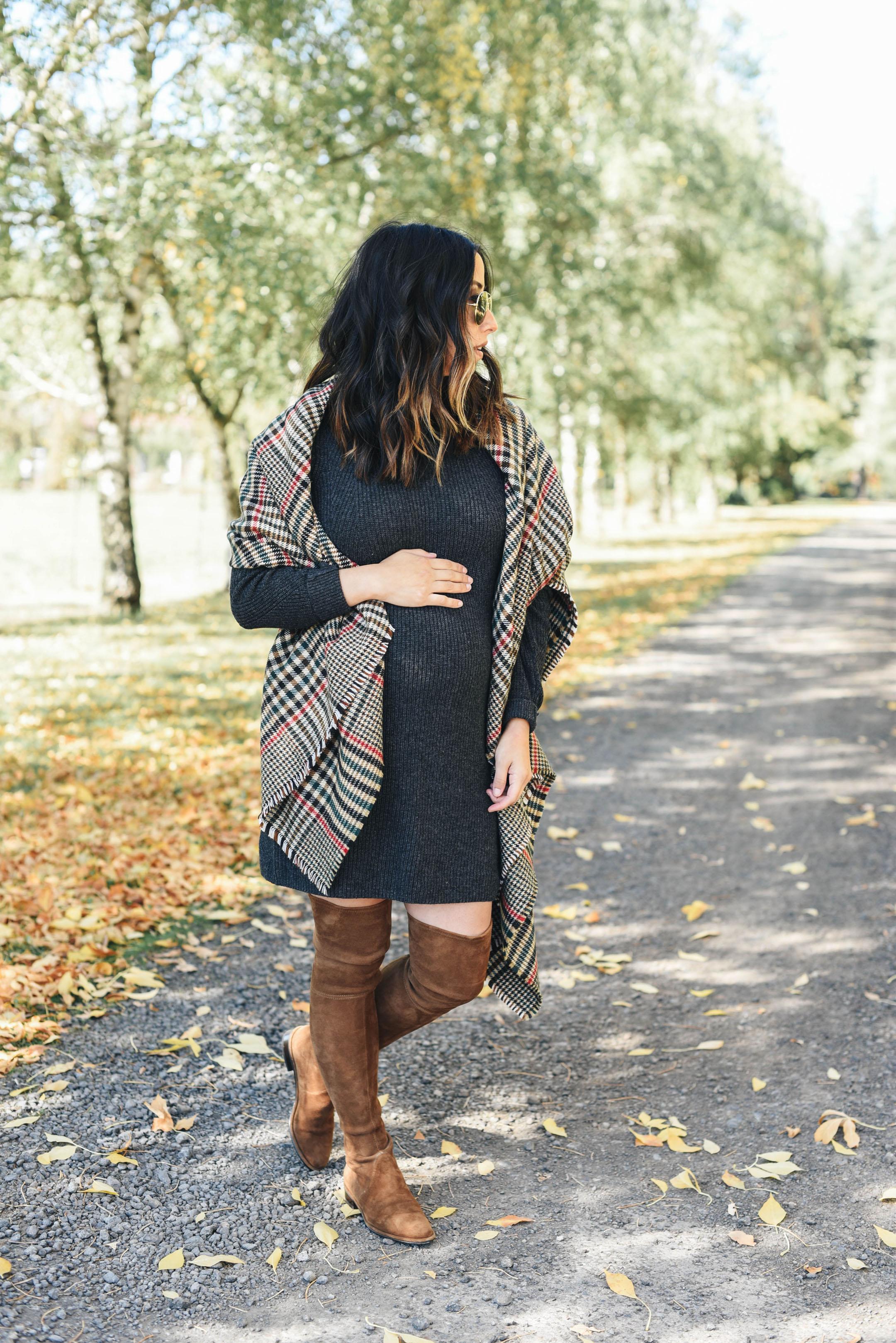 Abercrombie & Fitch petite sweater dress