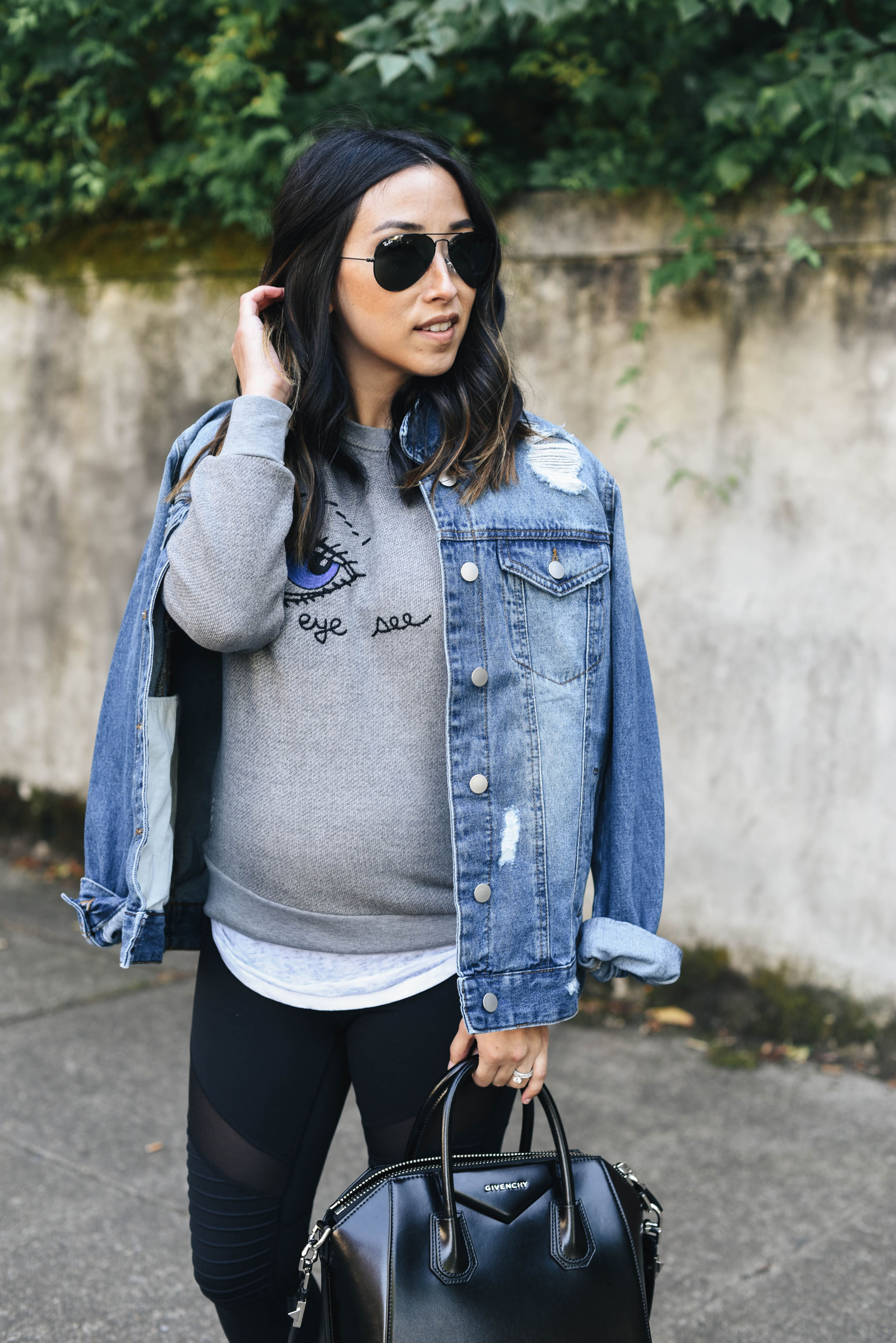 BP. boyfriend denim jacket