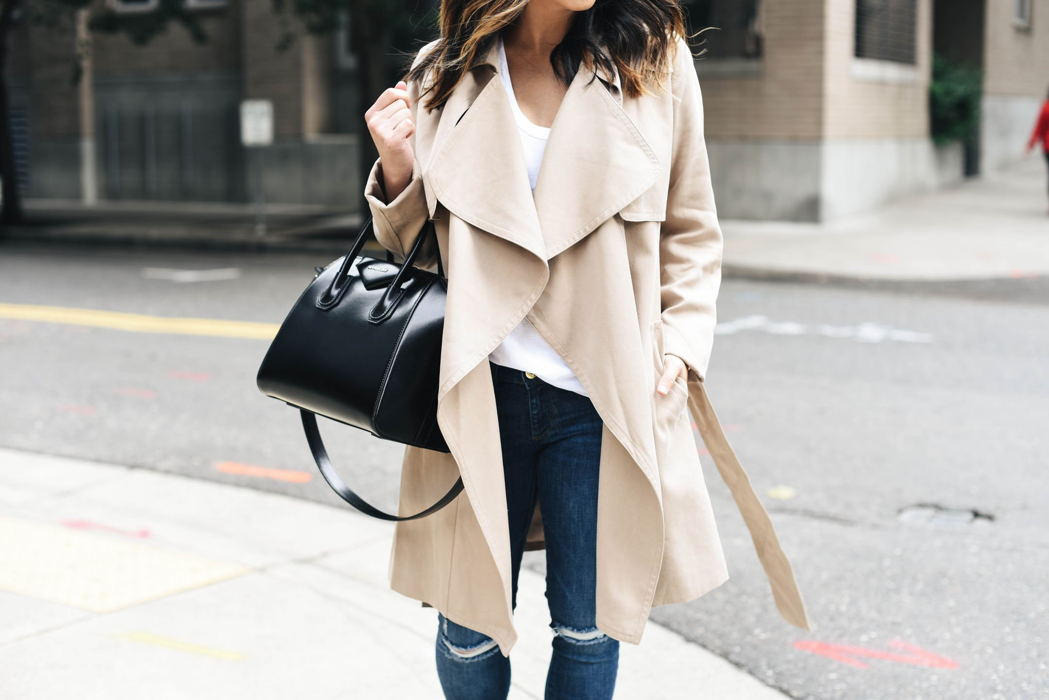 Best drape front trench coats