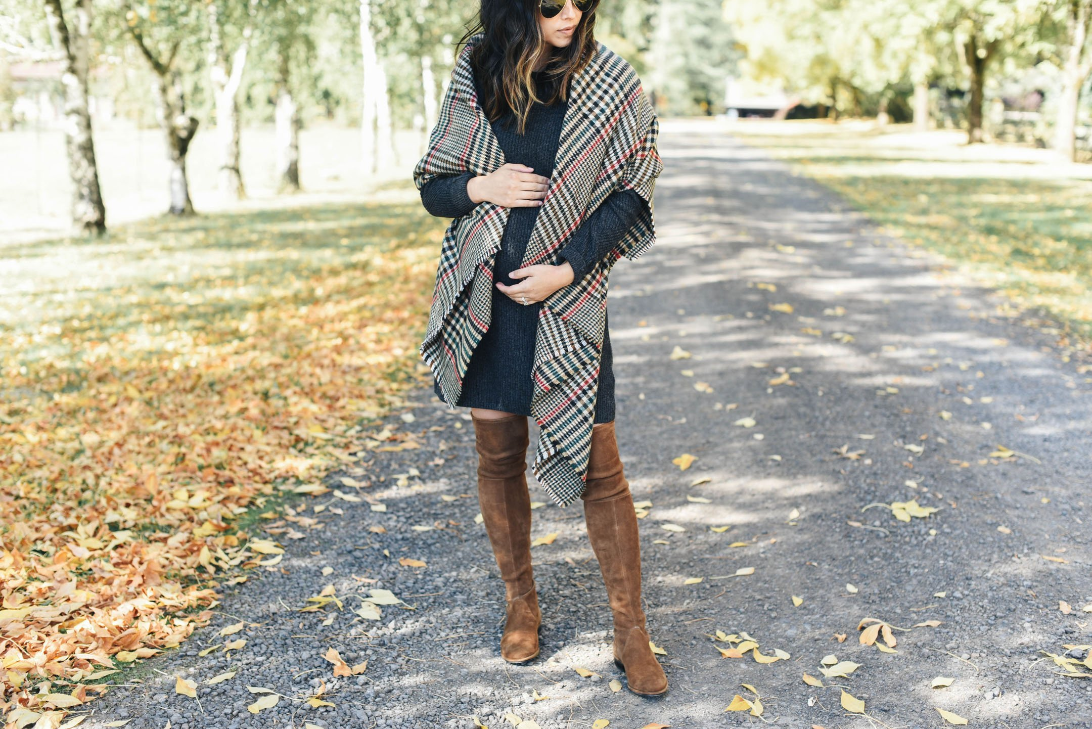 Best plaid scarves for fall