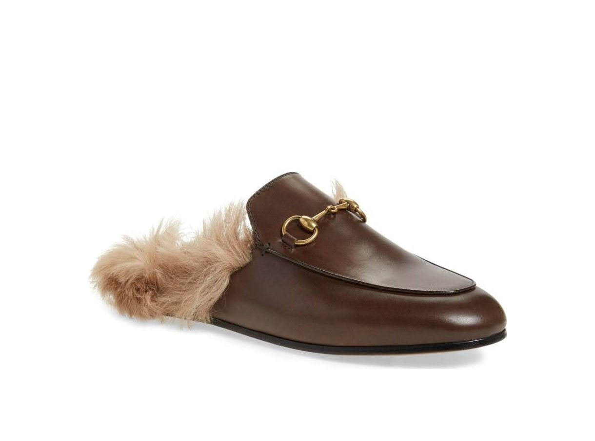 Gucci Princetown shearling loafer