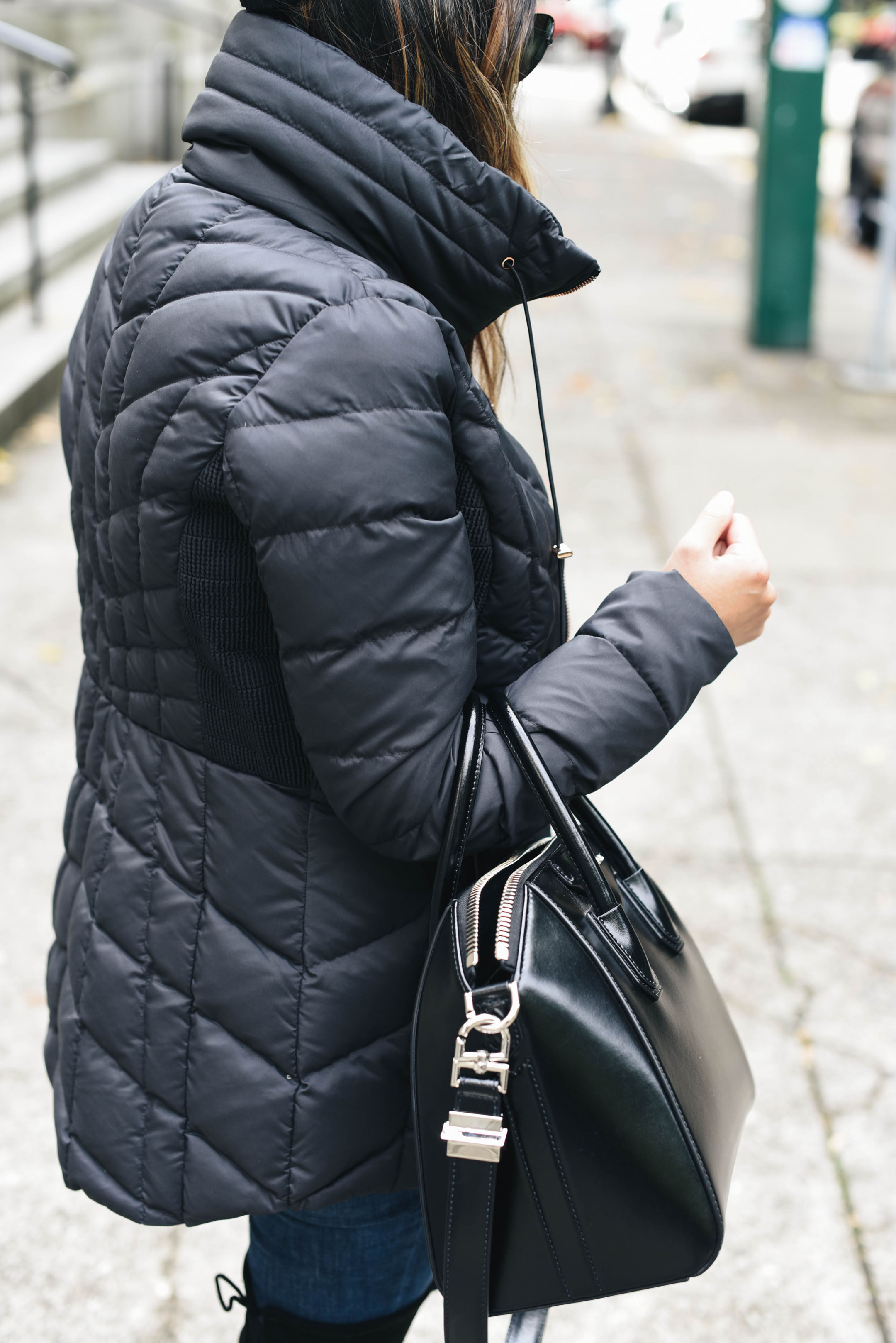 How to style a puffer coat