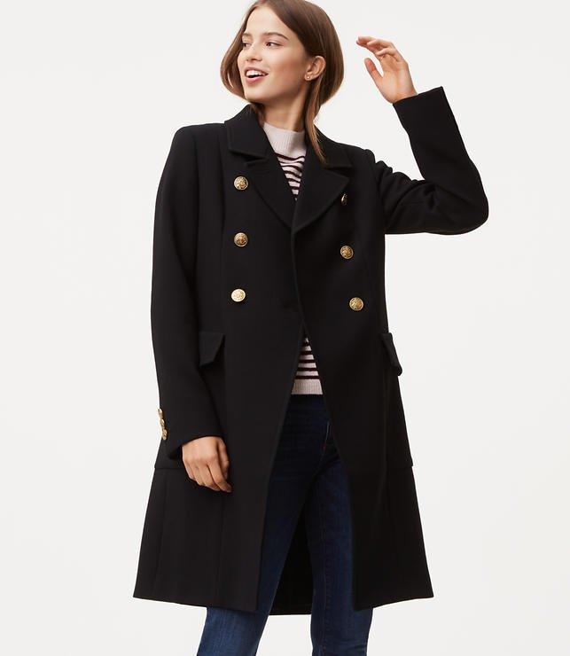 Loft military coat