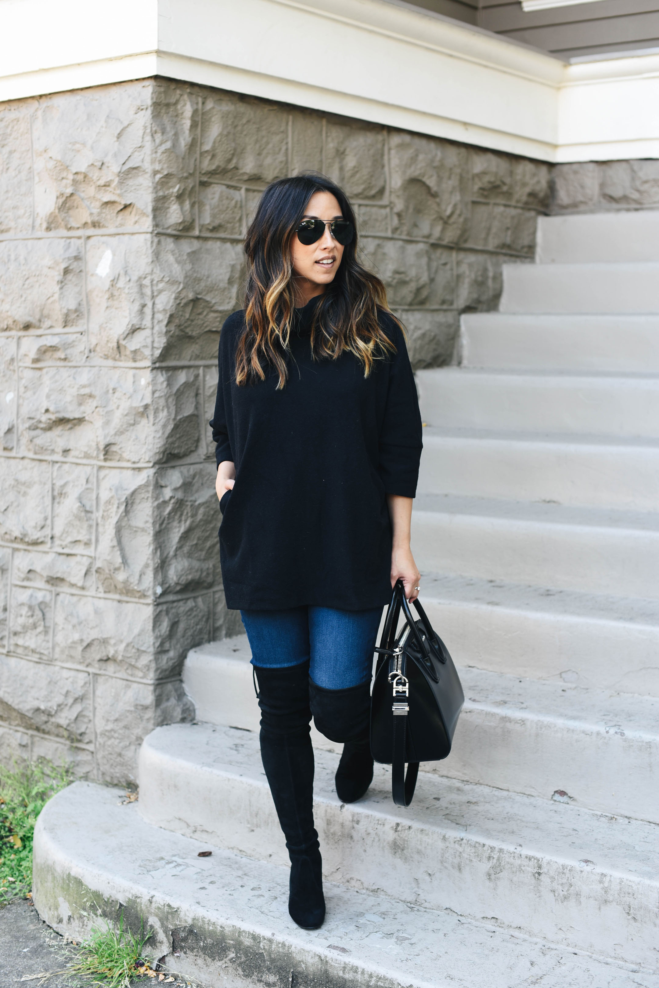 best ways to style over the knee boots