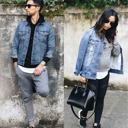 his and hers athleisure style