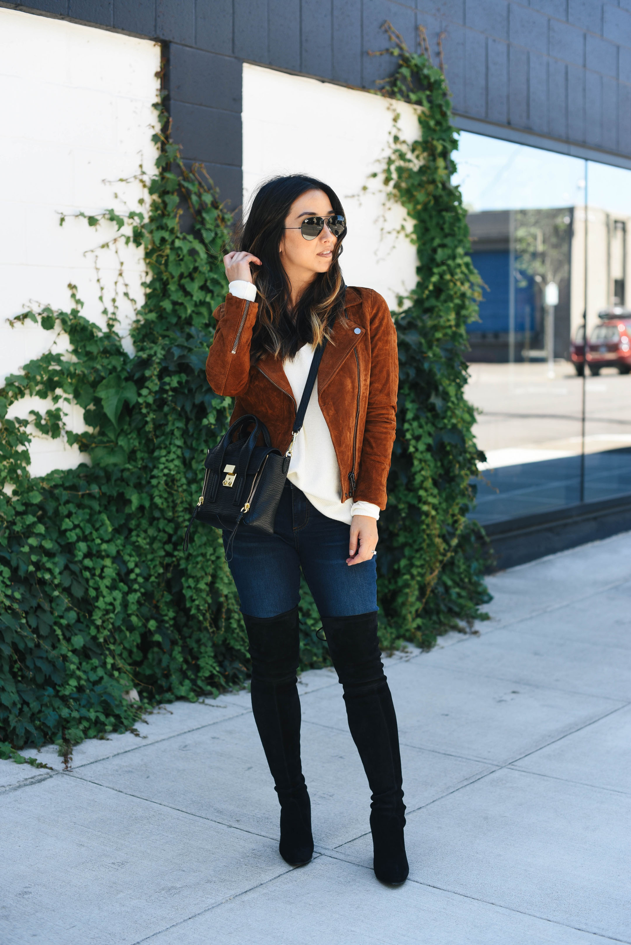 2c820cd9f35b3f Your Guide to Buying and Styling Over The Knee Boots - Crystalin Marie