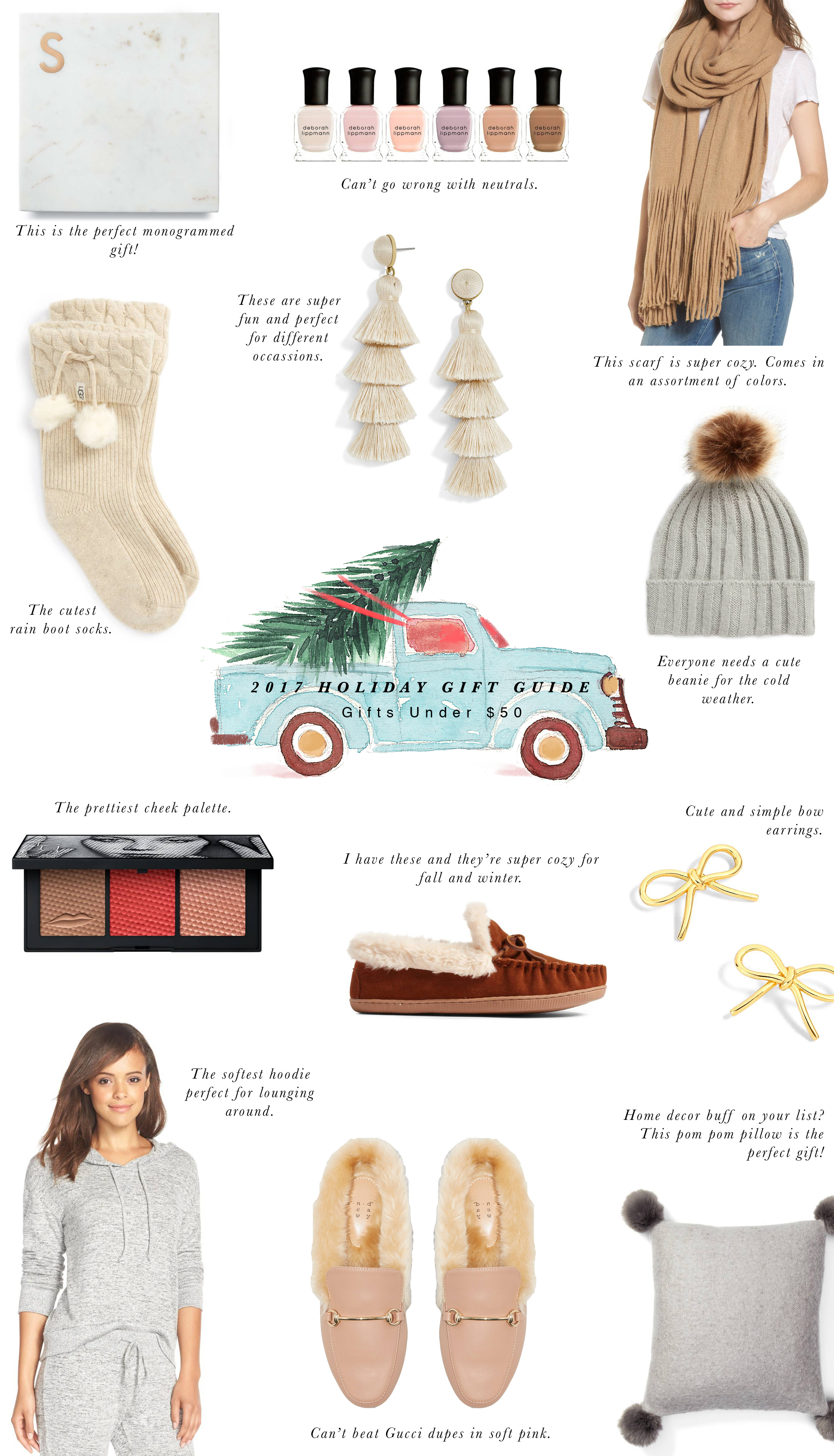 2017 Holiday Gift Guide Under $50