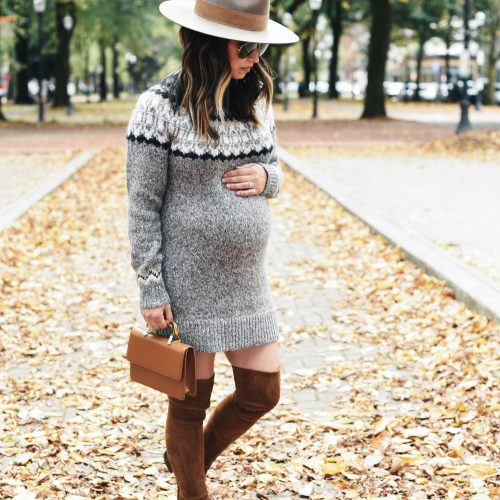 Abercrombie & Fitch fair isle sweater dress