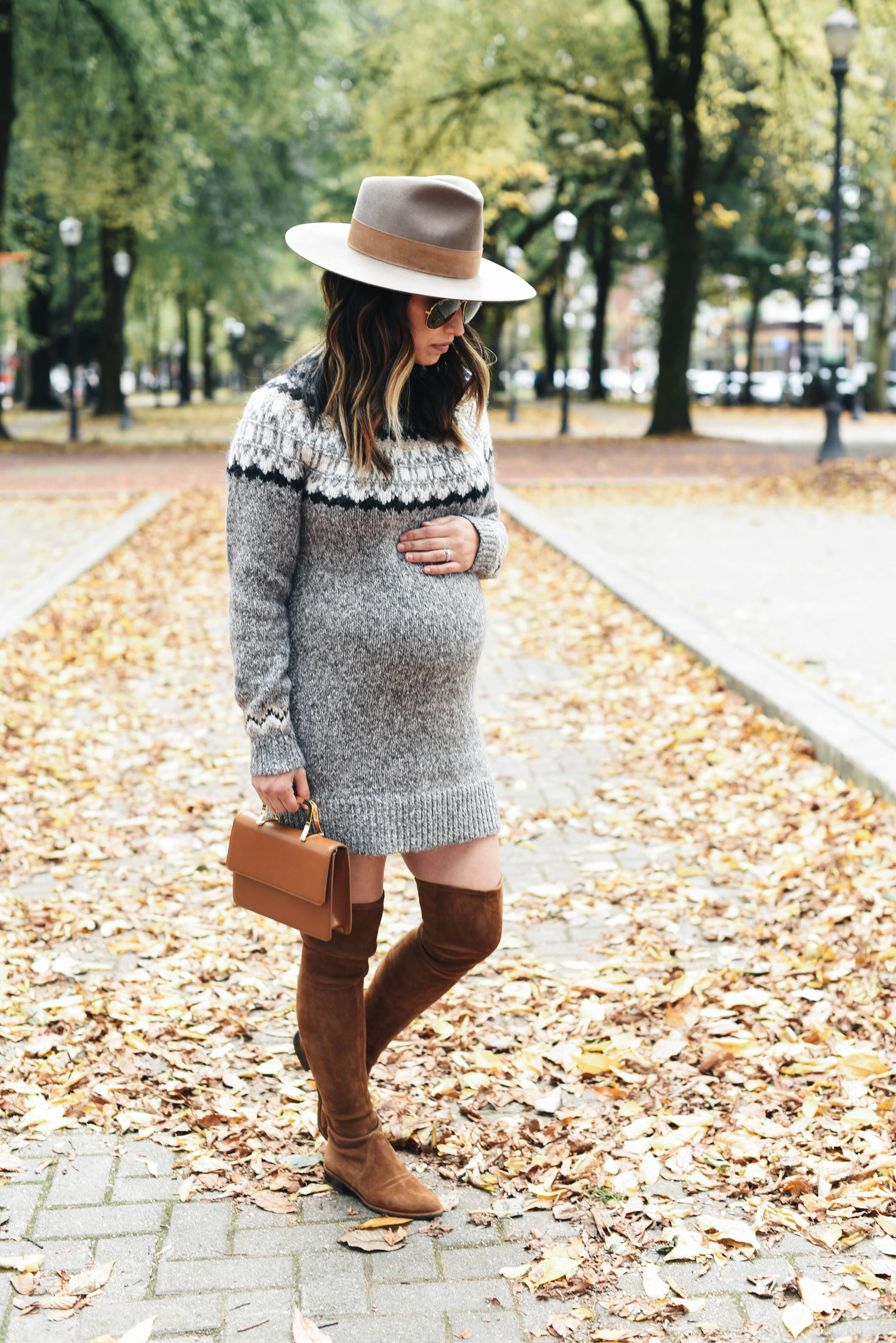 4a9c6328a40 Abercrombie   Fitch fair isle sweater dress. Happy Thanksgiving ...