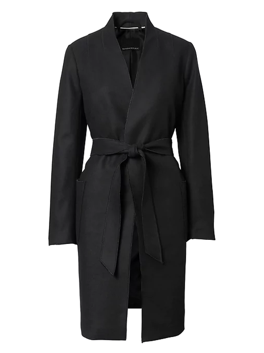 BR black coat