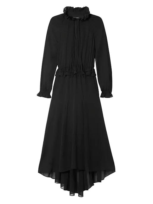 BR black maxi dress