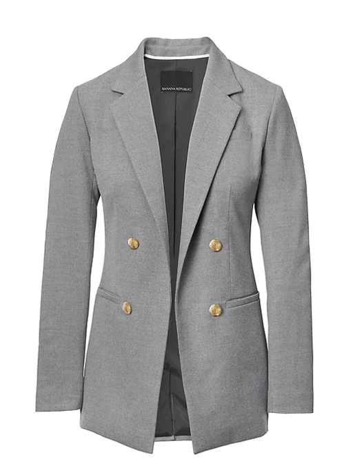 BR gray blazer