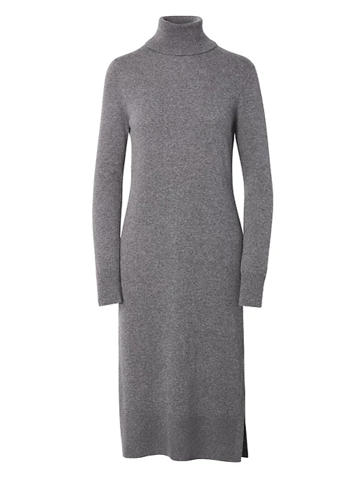 BR midi sweater dress