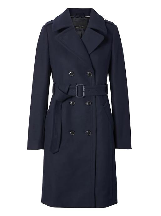 BR navy coat