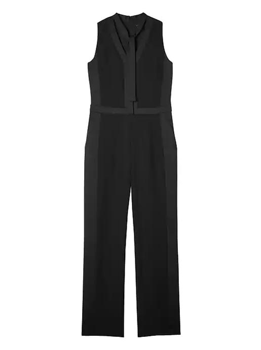 BR tuxedo jumpsuit