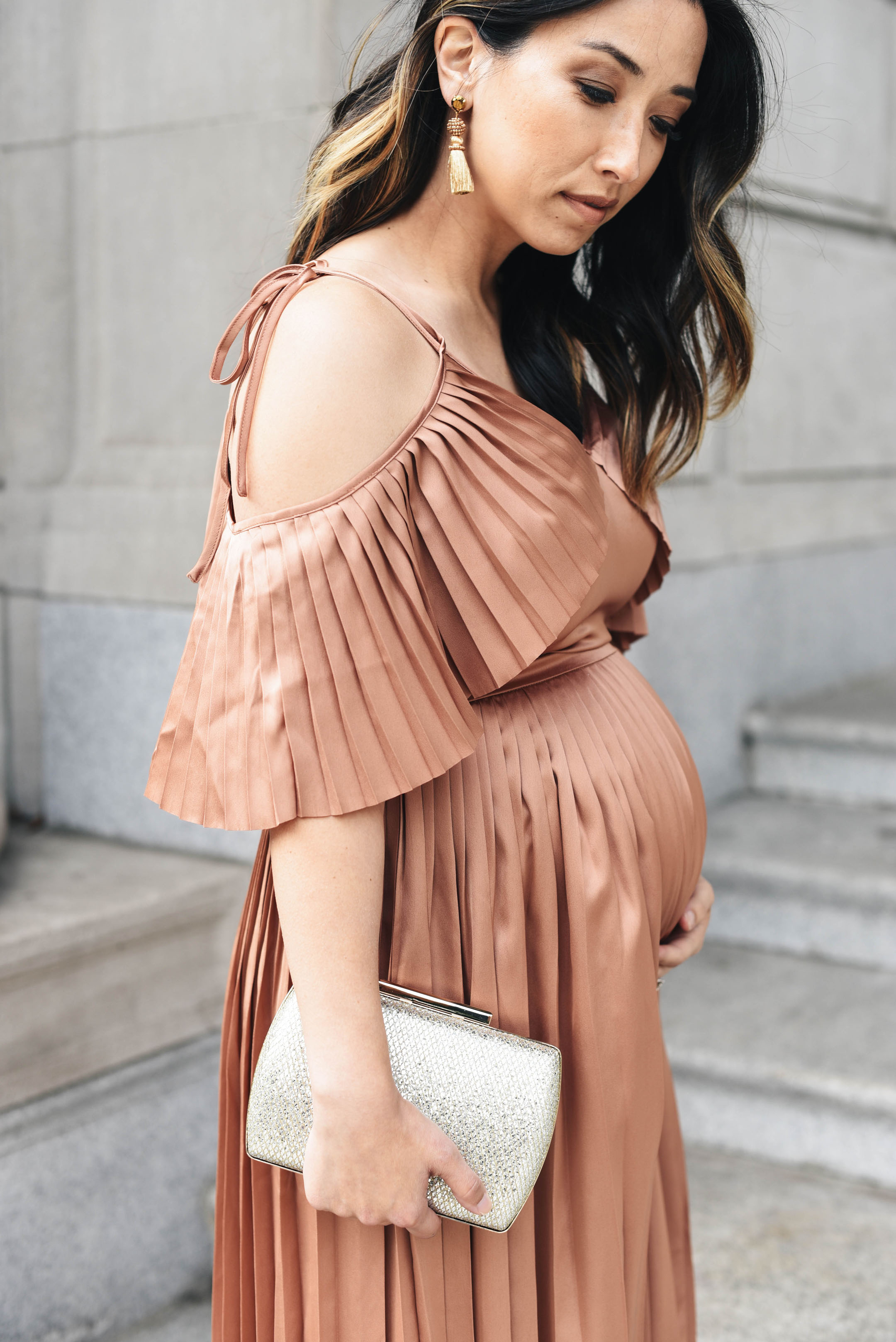 Crystalin Marie petite maternity style