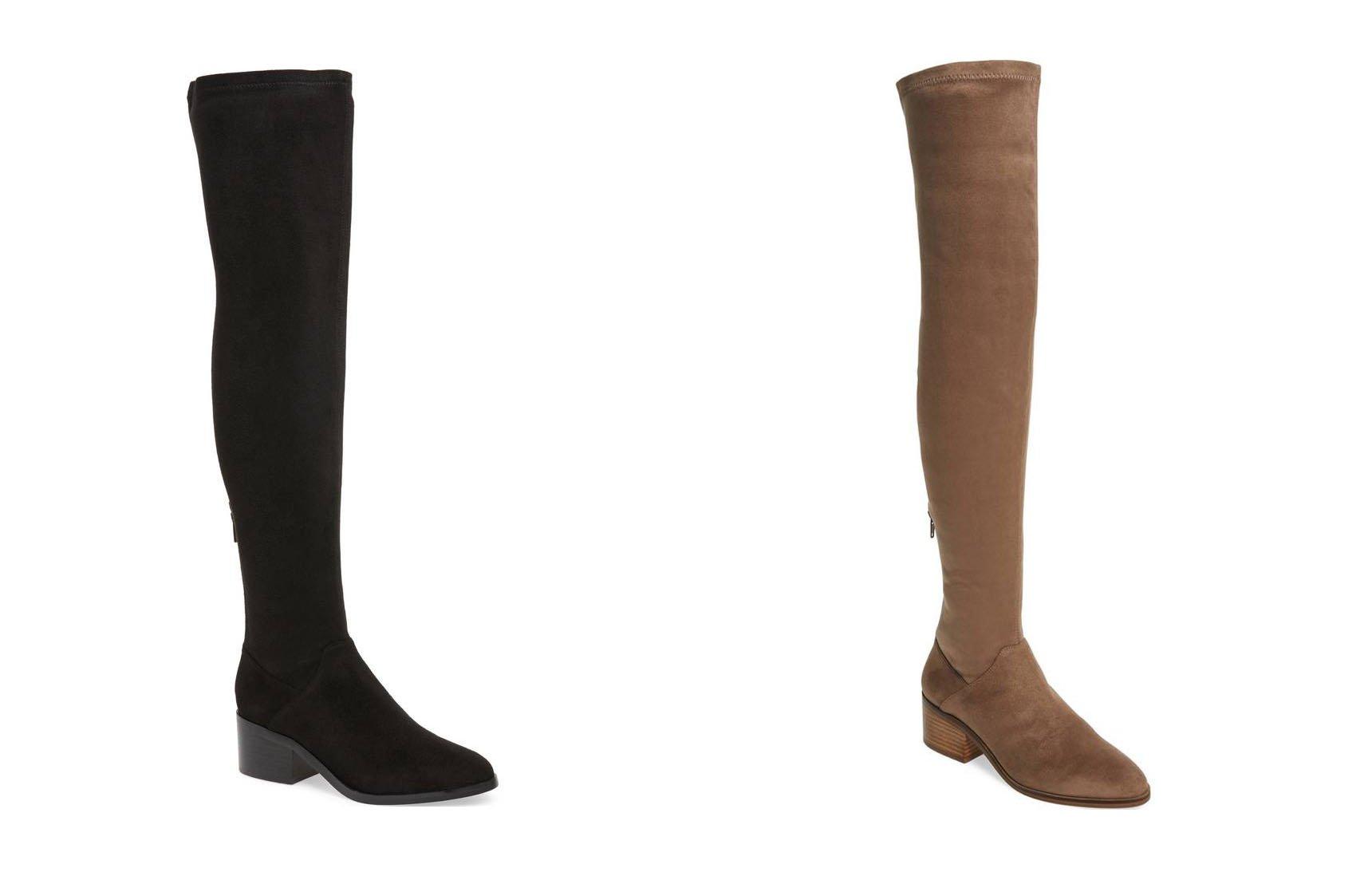 Steve Madden OTK boot sale