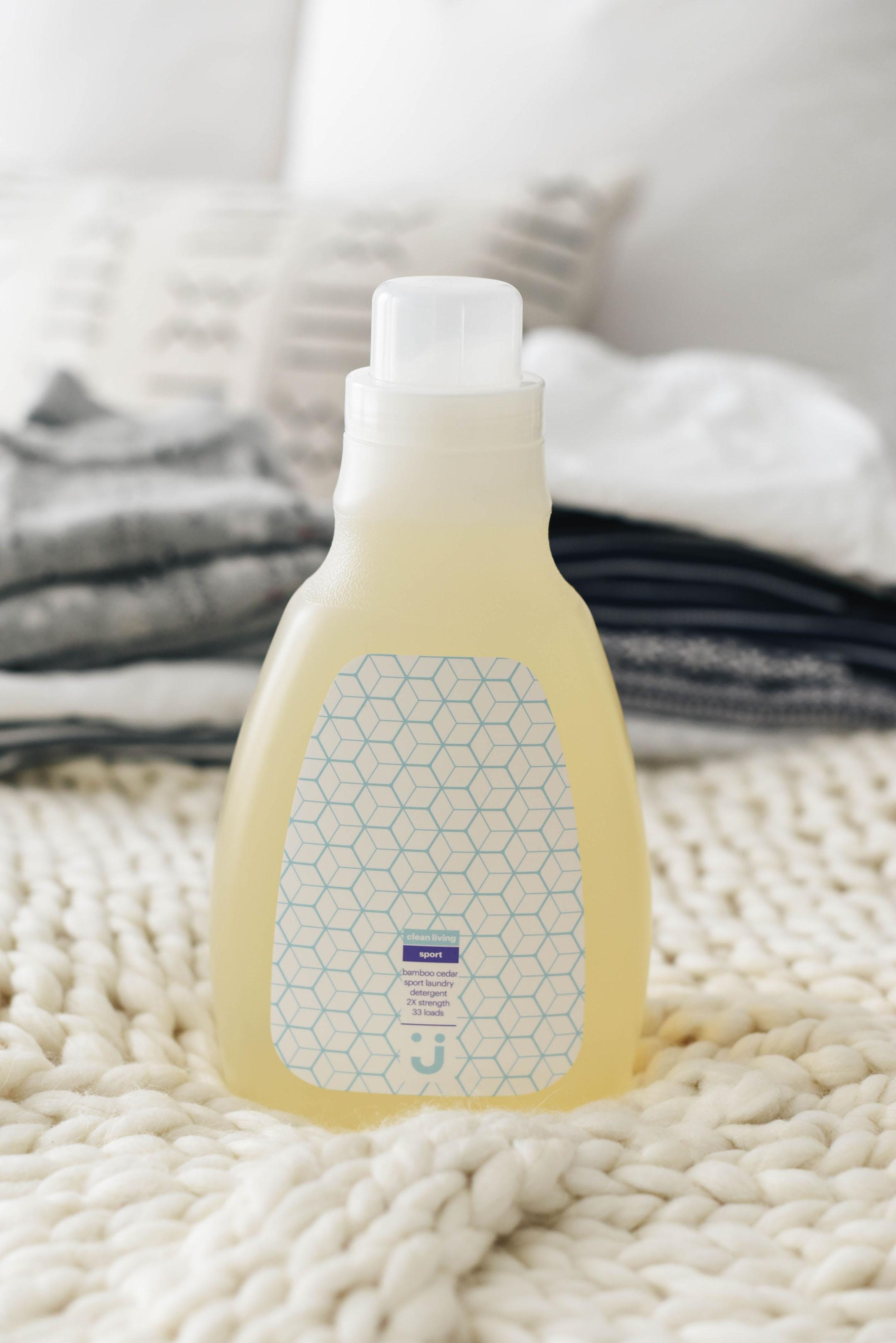Uniquely J Bamboo Cedar natural laundry detergent
