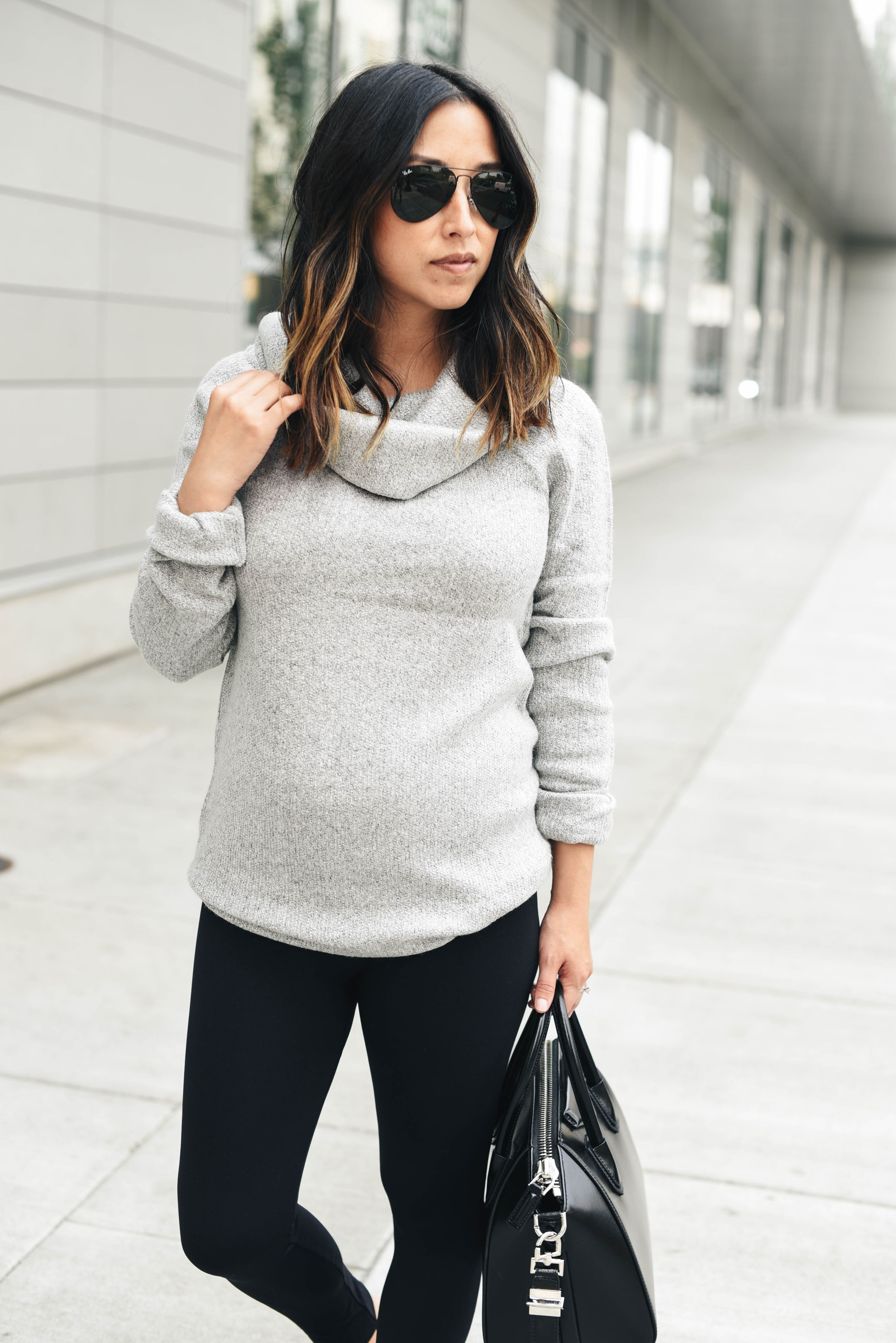isabel and Ingrid maternity sweater