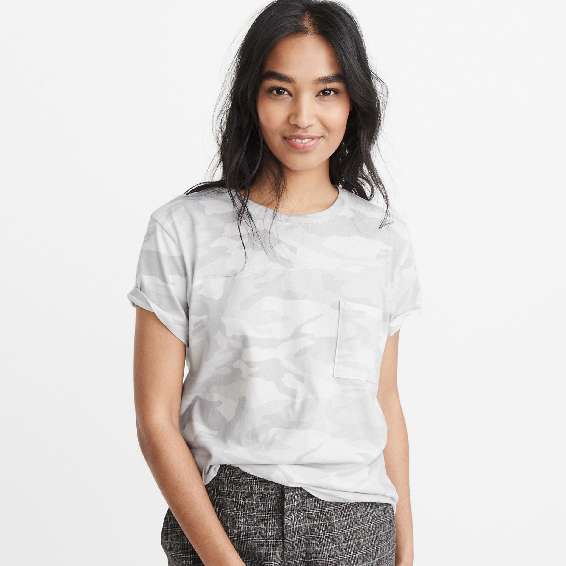 Abercrombie & Fitch camo tee