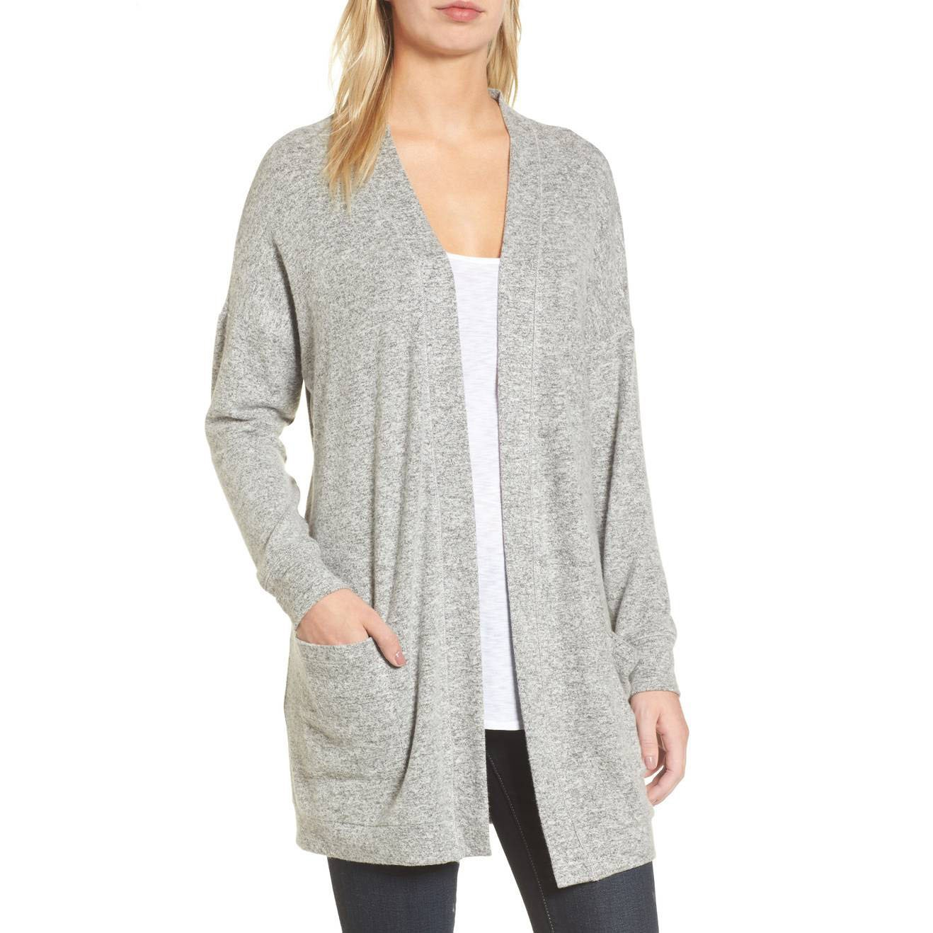 Gibson fleece cardigan
