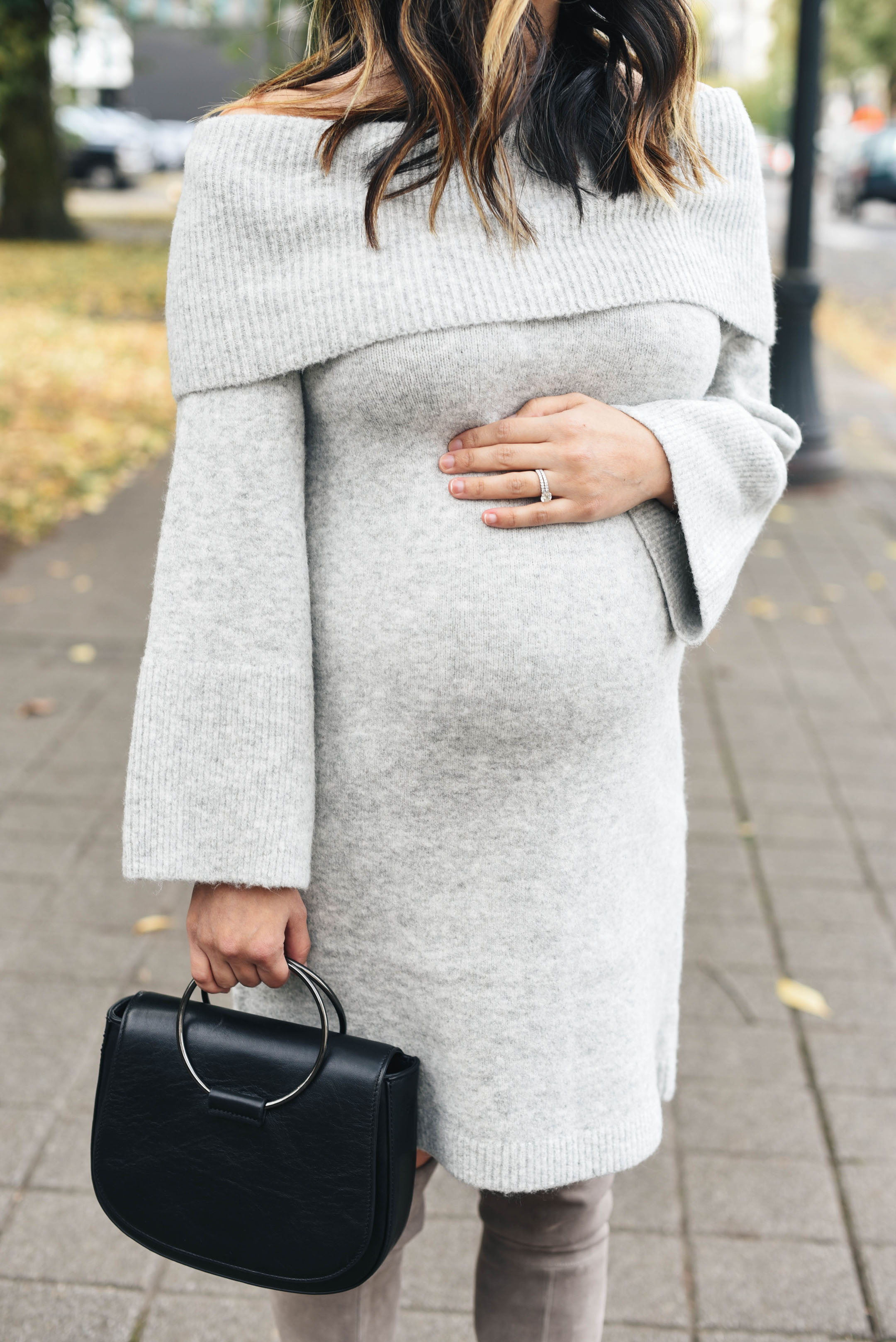 Sweater dresses for the holidays