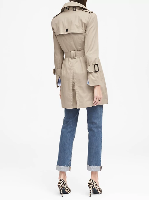 Banana Republic trench coat 2