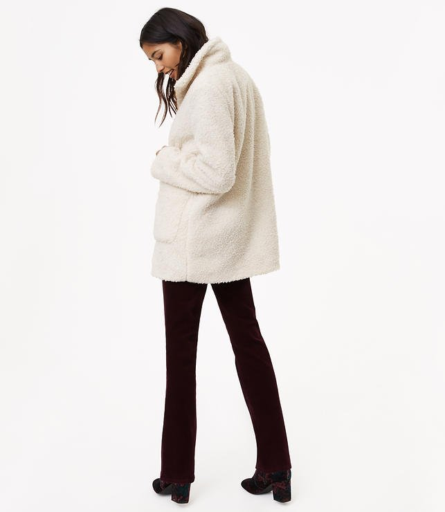 Loft sherpa coat 2