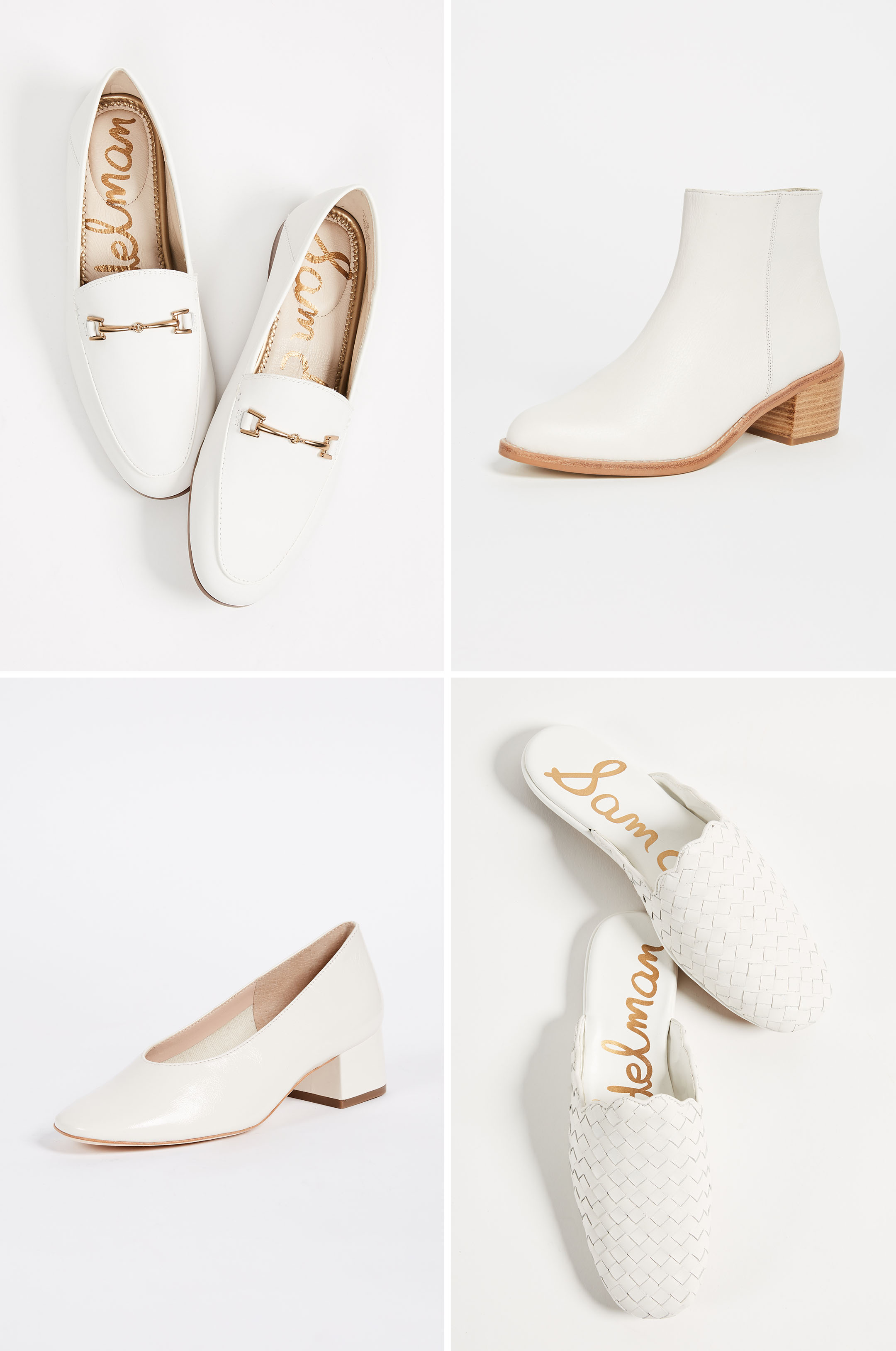 Spring 2018 Trends White Shoes