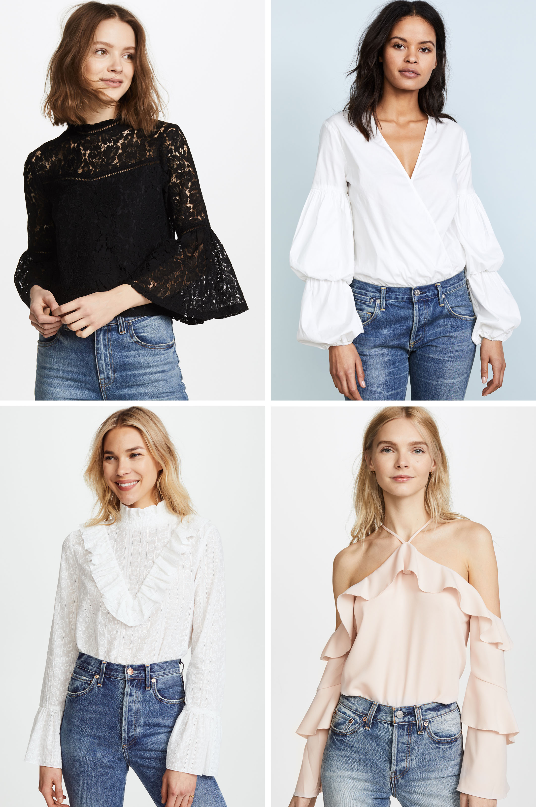 Spring 2018 Trends fun blouses