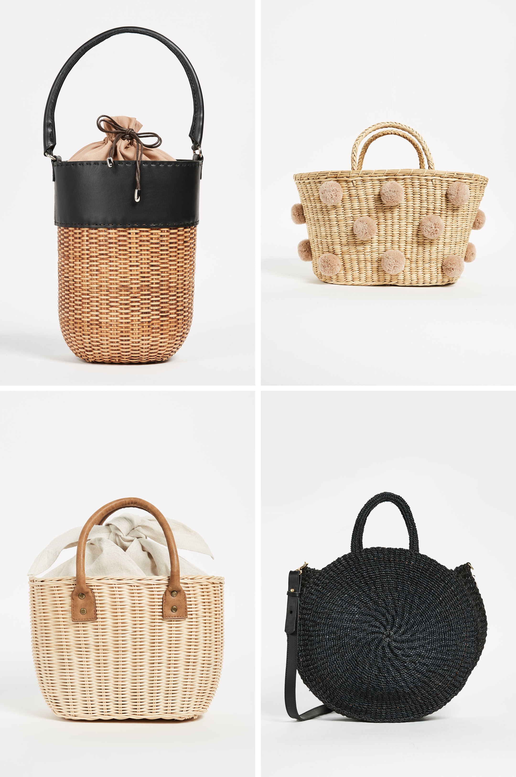 Spring 2018 Trends wicker bags