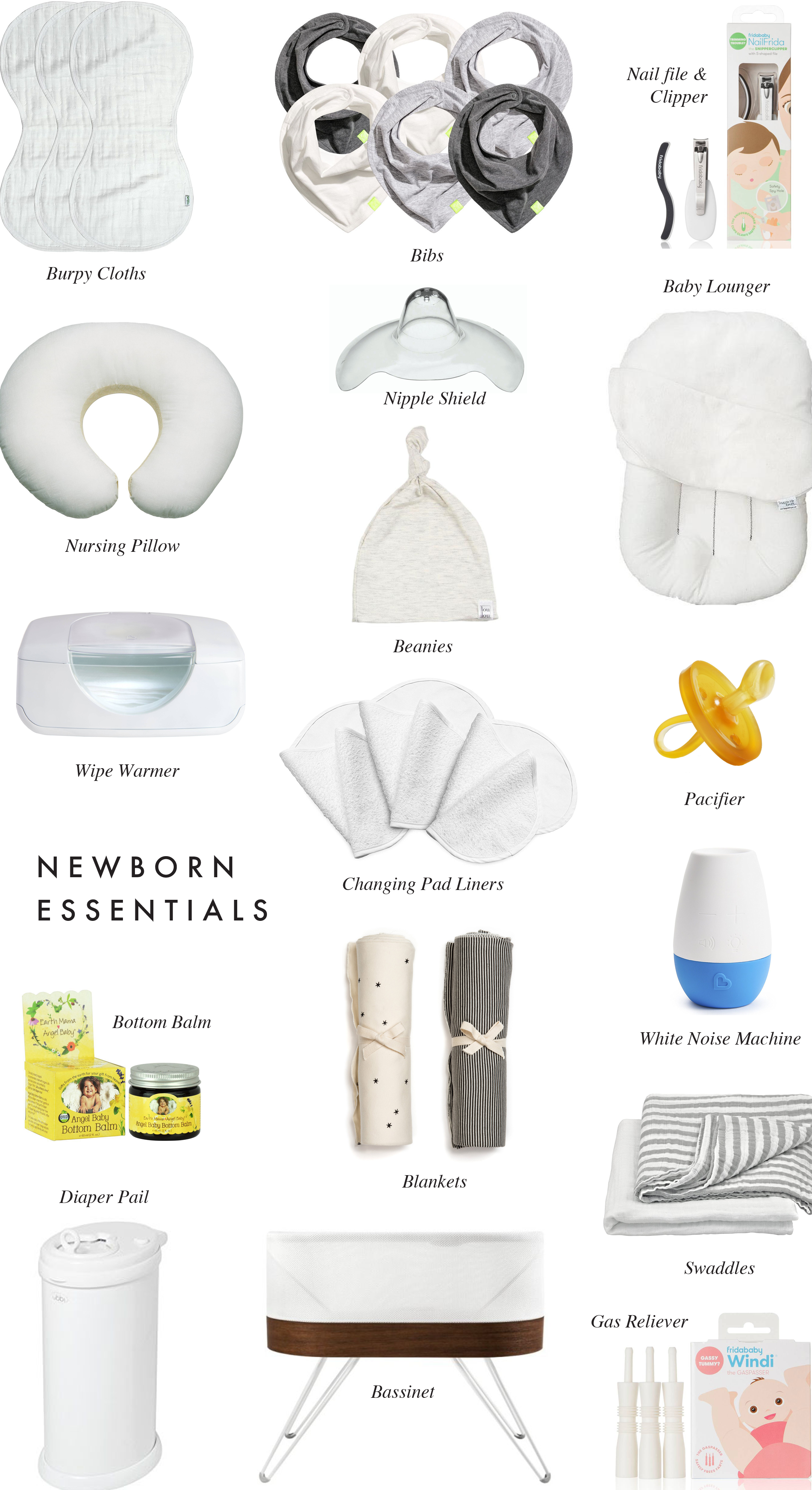 95c97cb23 My Newborn Essentials - Crystalin Marie