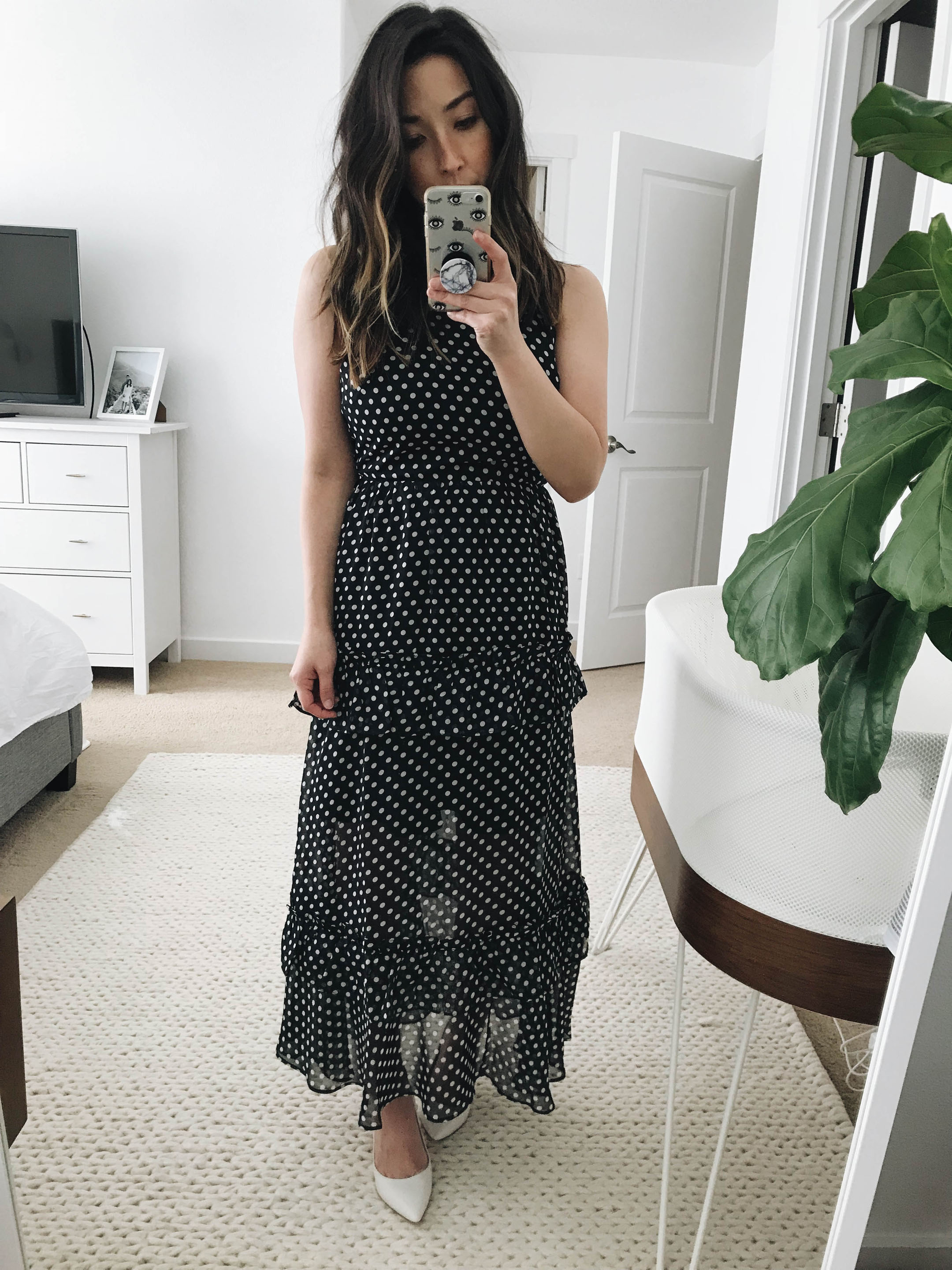 Endless Rose polka dot maxi dress 1