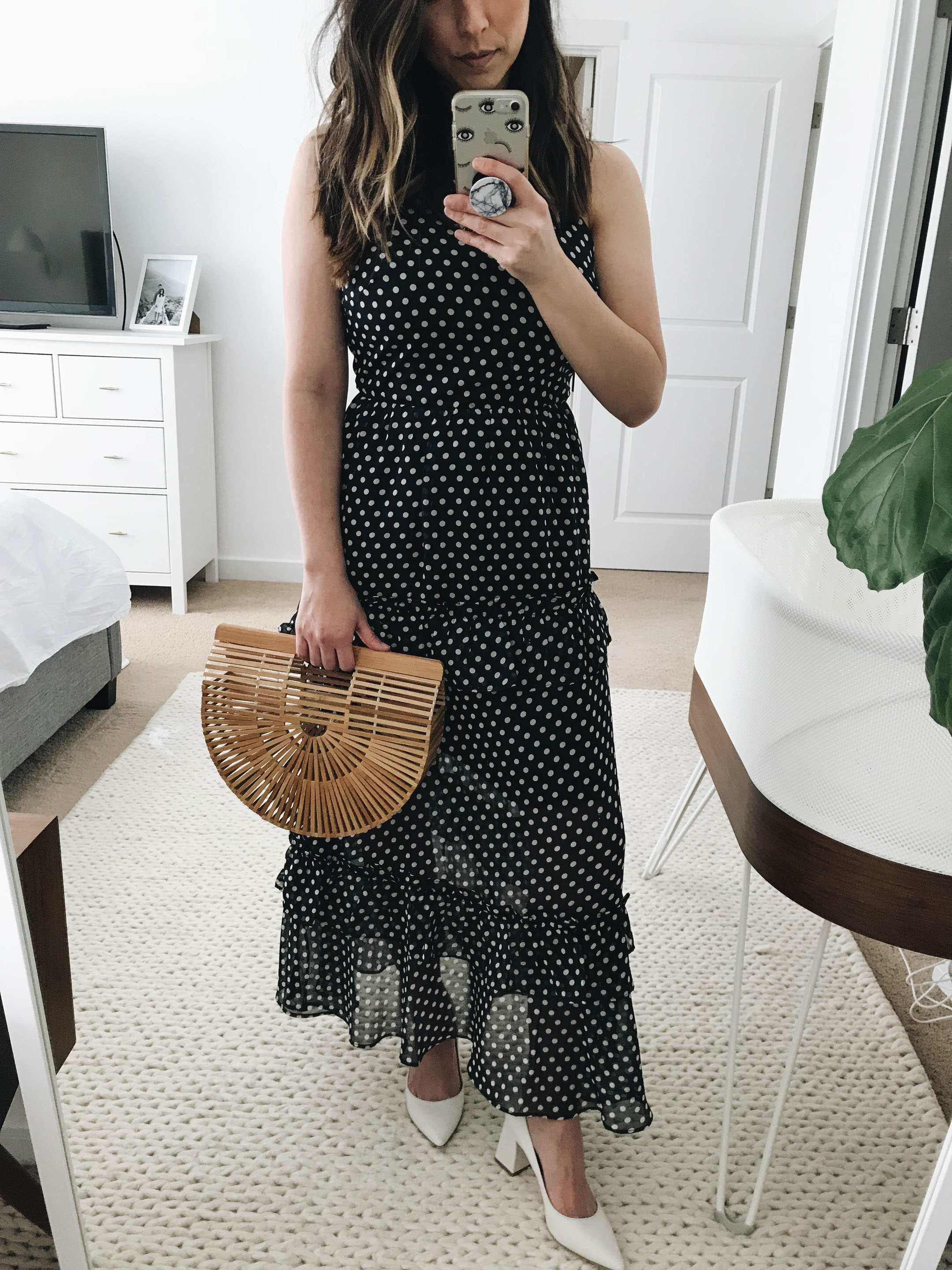 Endless Rose polka dot maxi dress 3