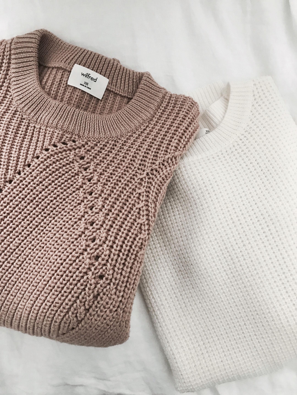 Aritzia sweaters