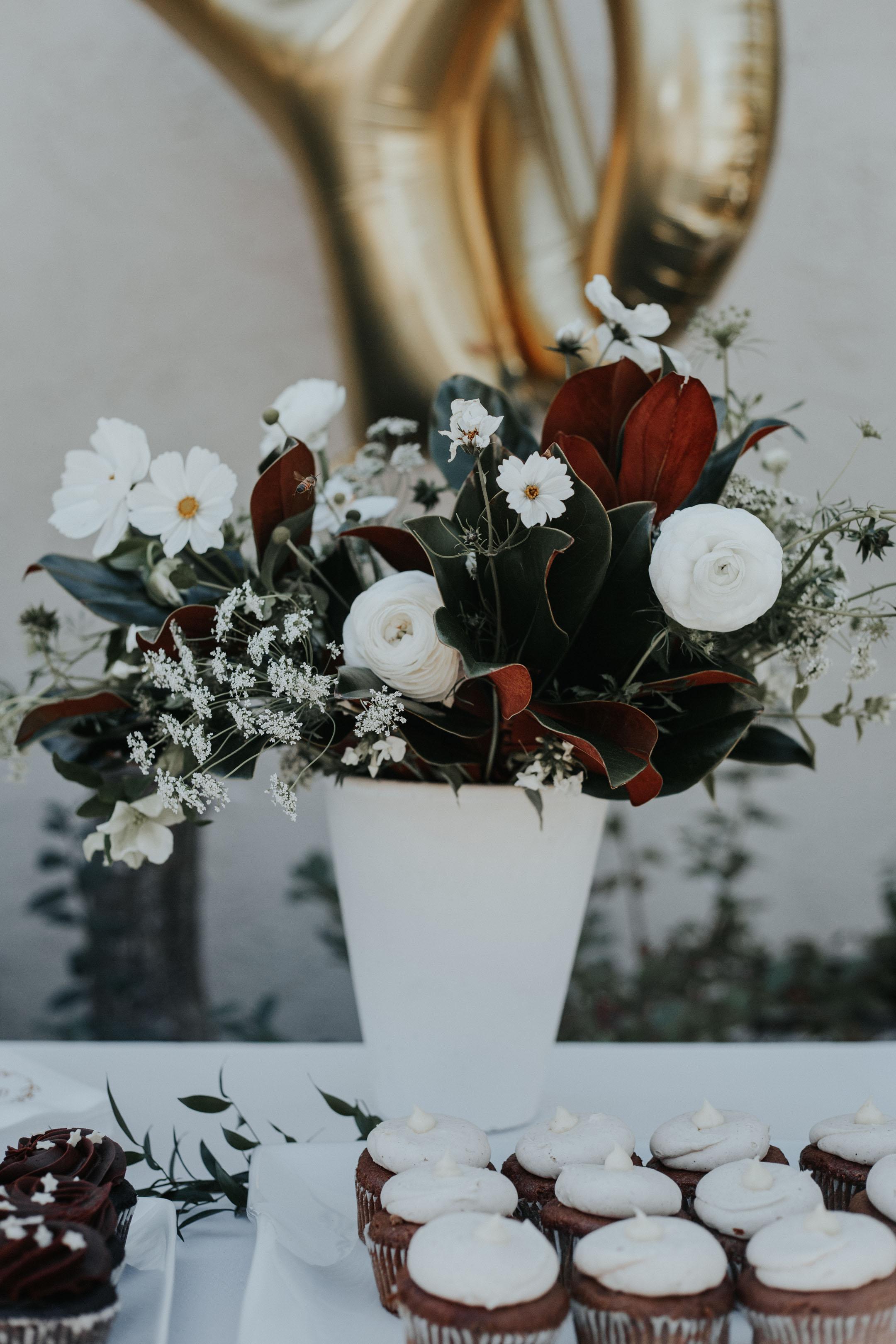 Crystalin Marie Baby Shower Tango & Foxtrot florals