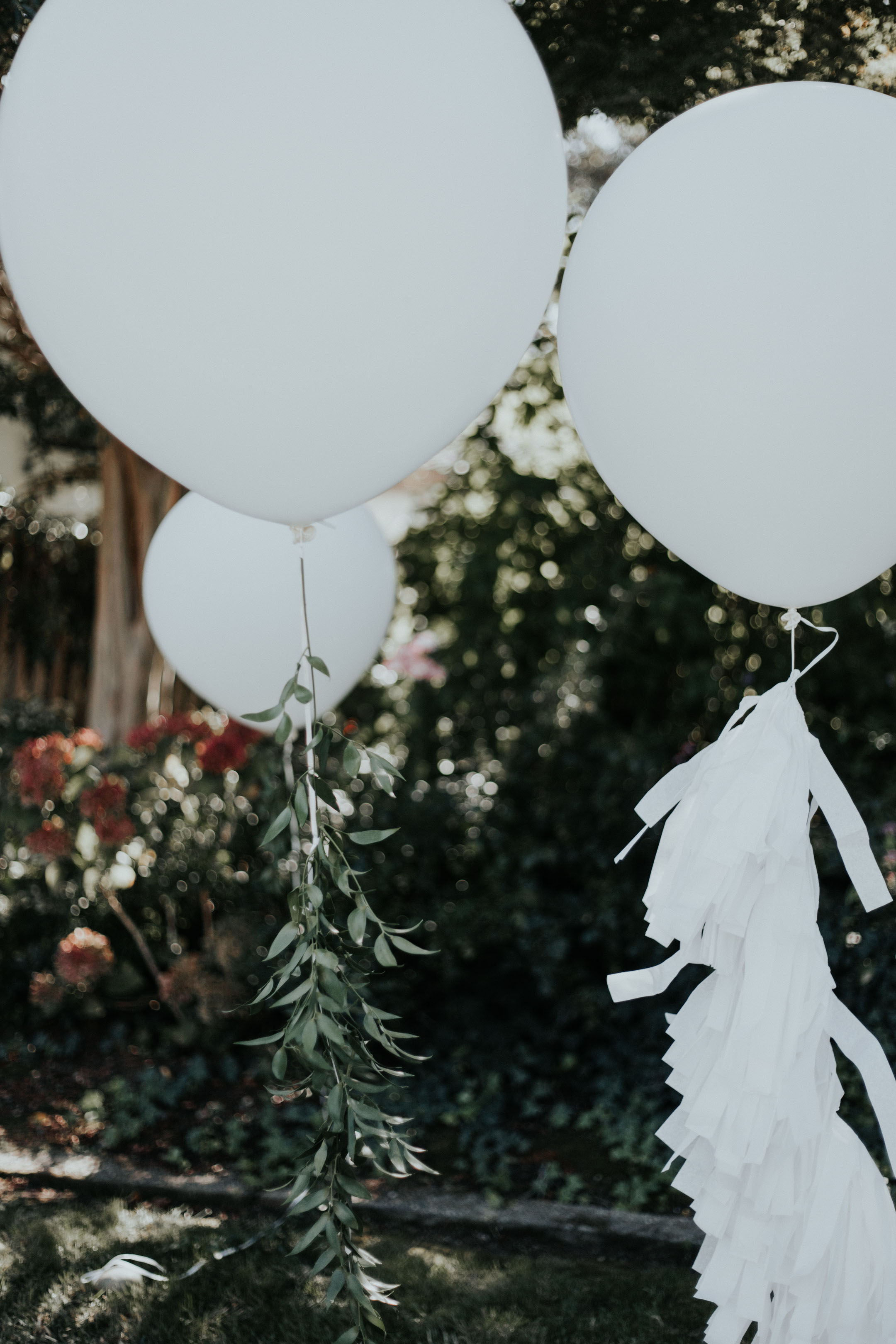 Crystalin Marie Baby Shower oversized balloons