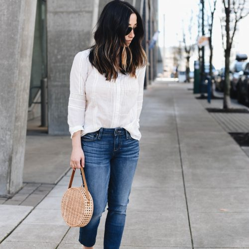 Paige Embroidered blouse