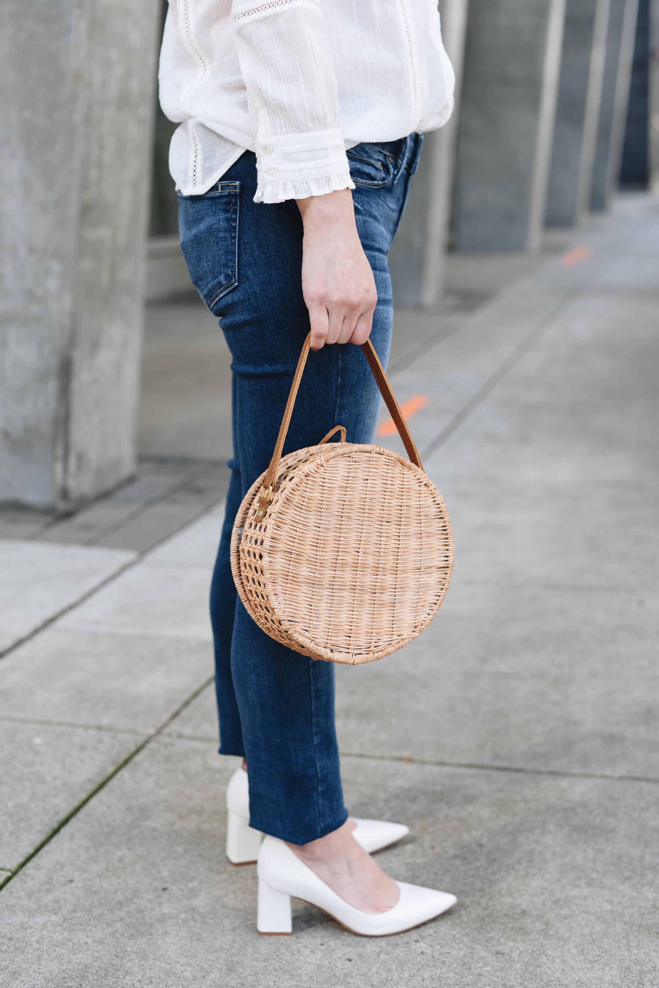Serpui round bag
