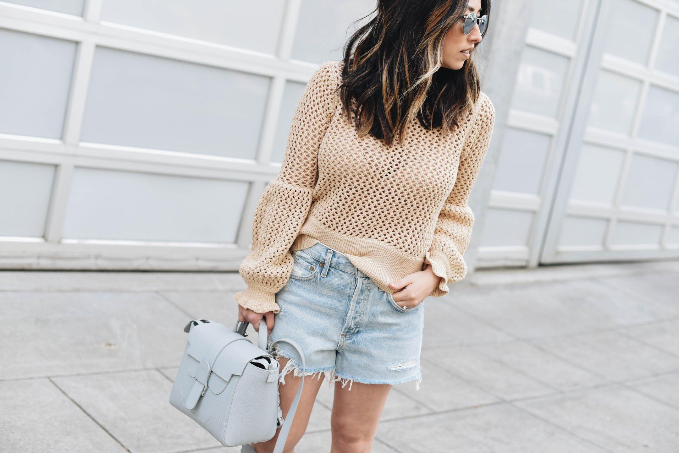 AGOLDE parker vintage shorts