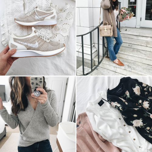 March Instagram outfit details