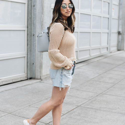 Rebecca Minkoff fisherman knit sweater