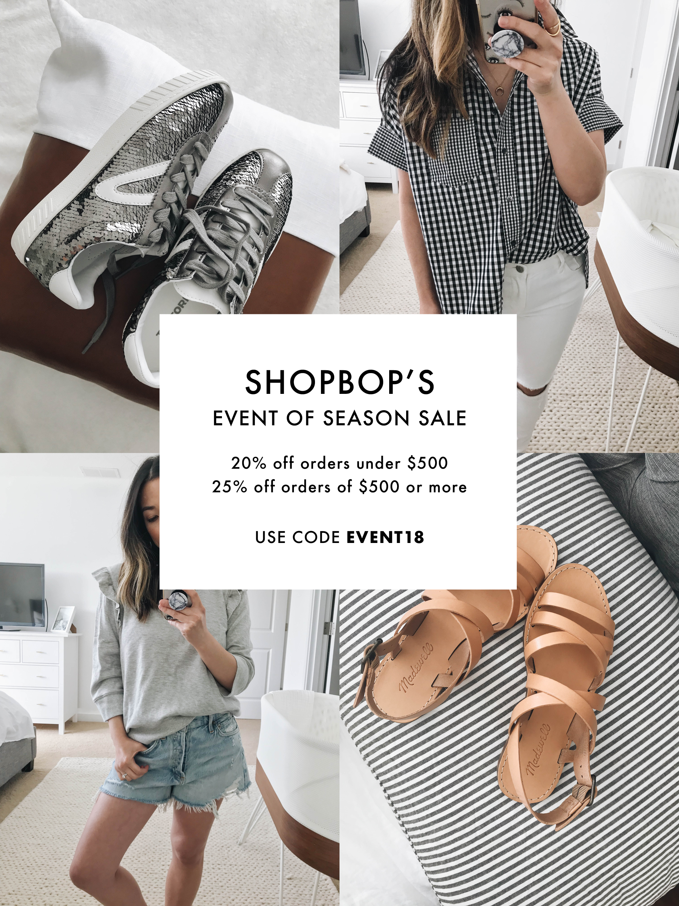 Shopbop's April Big Event Sale