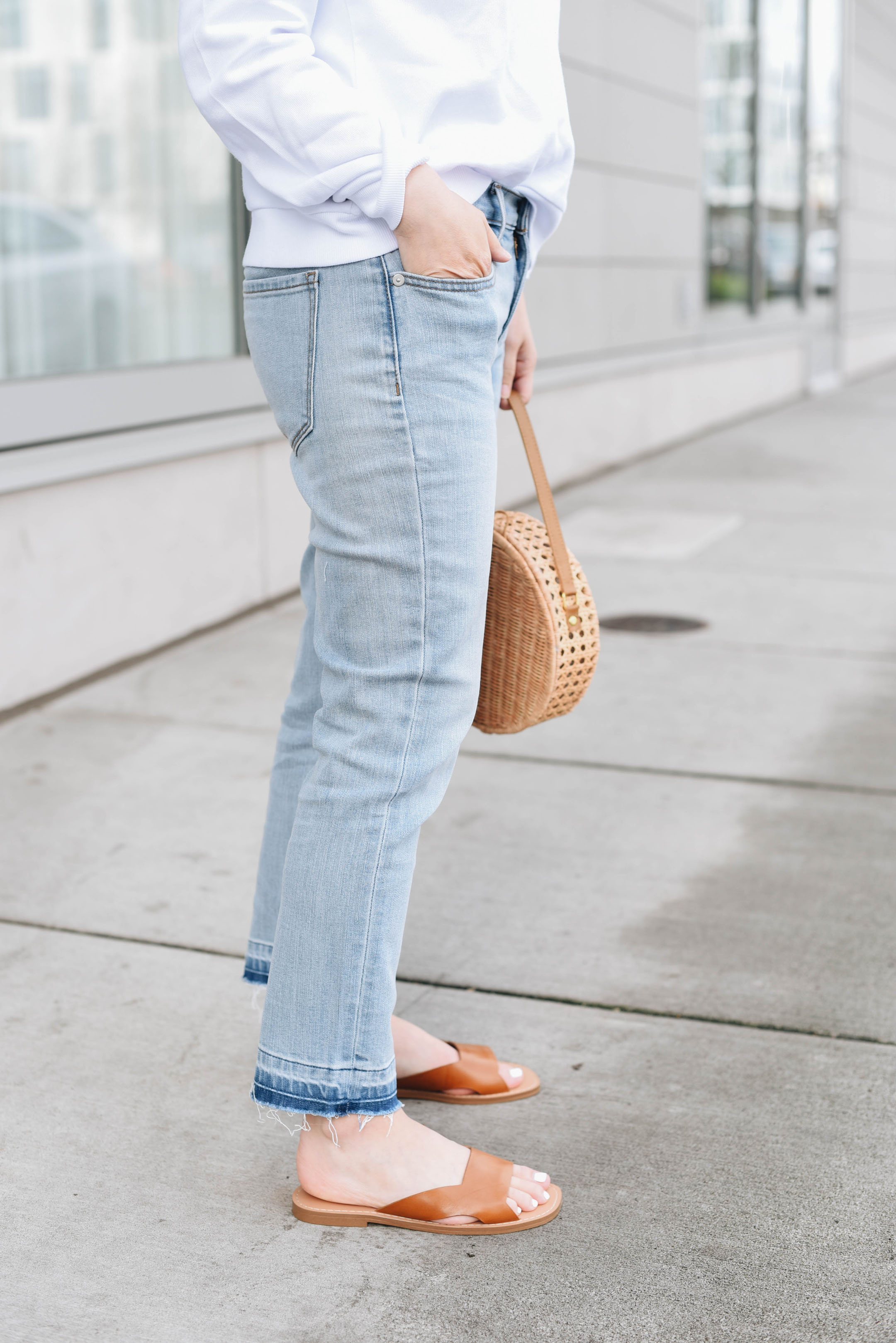 Banana Republic light wash jeans