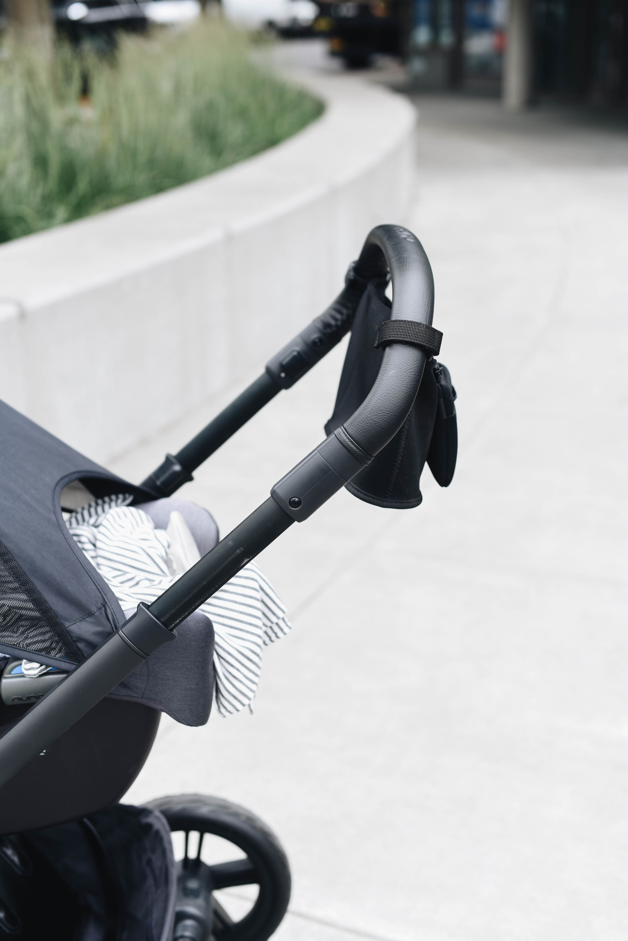 Nuna Mixx Stroller handle for tall people