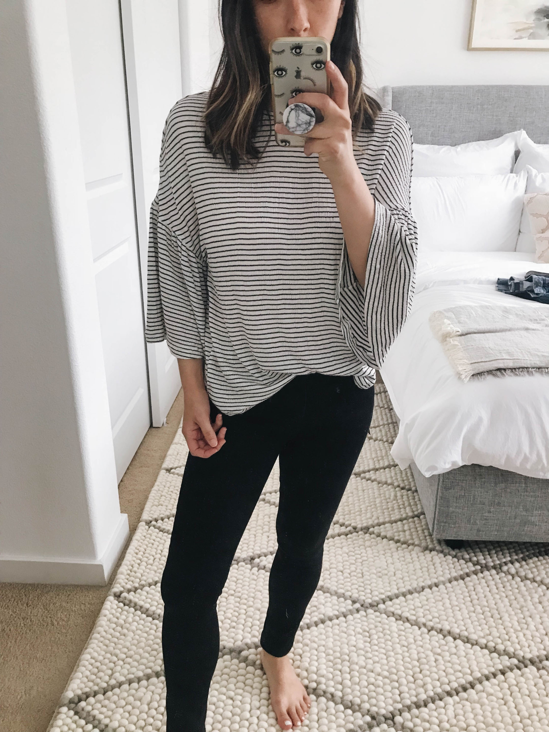 0110fc51aad9a Caslon Stripe Bell Sleeve Tee petite xxs – This tee was part of the Nordstrom  Anniversary Sale last year and they brought it back.
