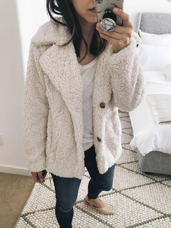 Caslon shearling jacket 1