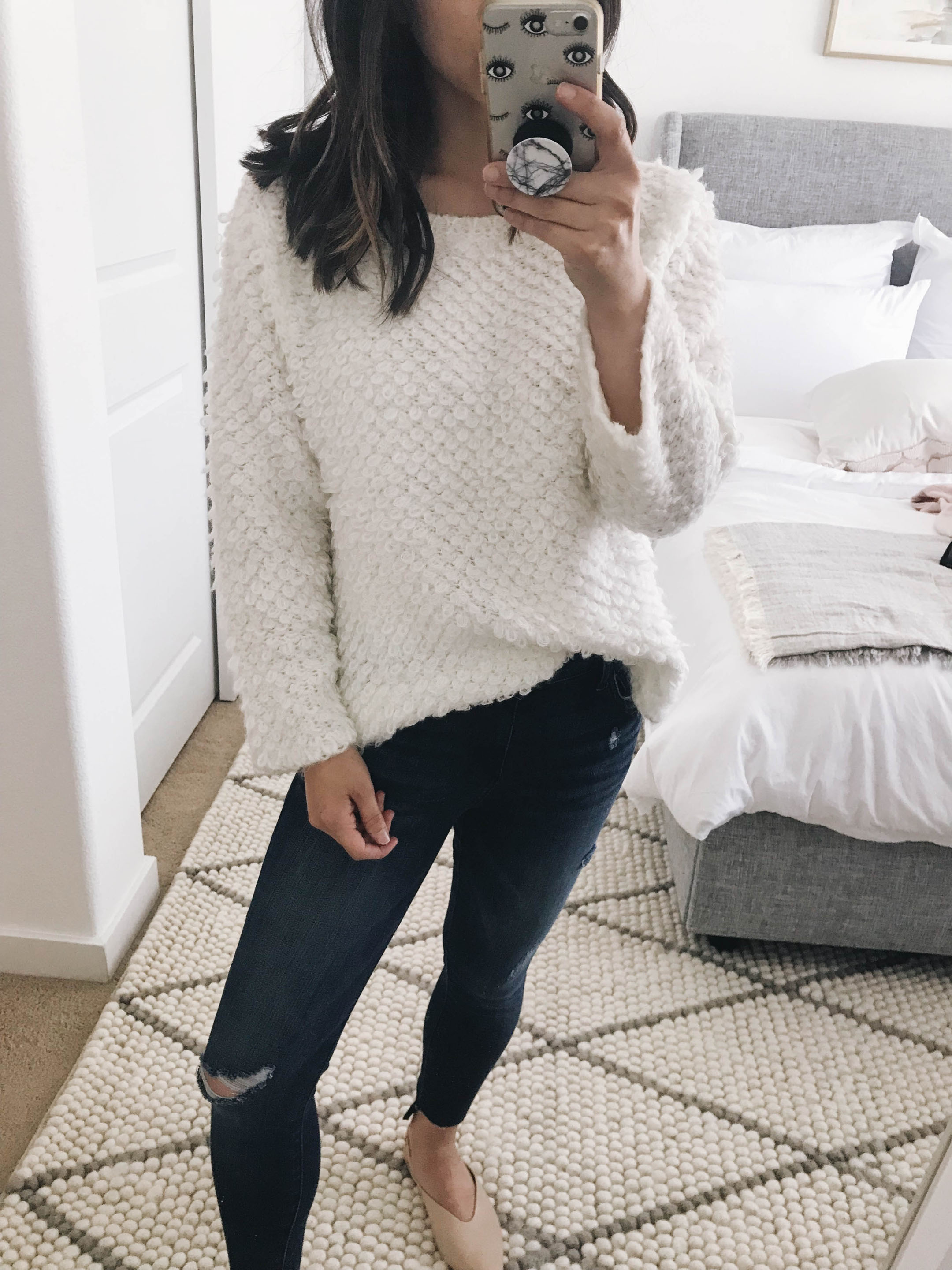 Caslon textured sweater